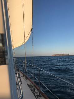 sailing across Banderas Bay